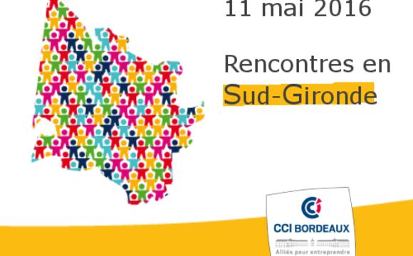 11 mai : Pierre GOGUET rencontre les dirigeants du Sud Gironde