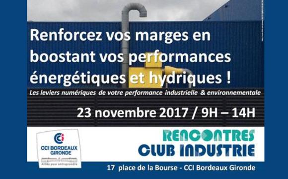 Club Industrie : boostez vos performances énergétiques et hydriques !