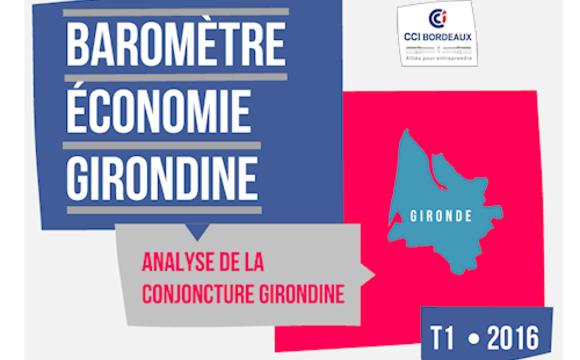 Baromètre économie girondine 1T2016